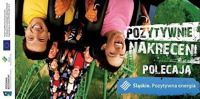 """Kampania - """"Pozytywnie nakręceniu polecają"""" województwa Śląskiego."""