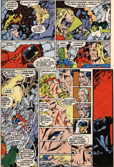 La muerte en los comics Superchica