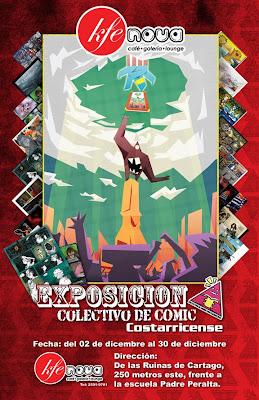 Exposición del Colectivo del Cómic Costarricense. Segunda_exposicion_by_siekfried