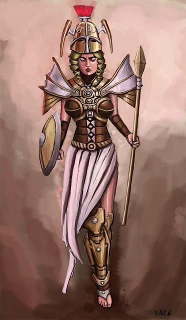 12vo Combate - Skadi versus Athena Athena_by_Dazg