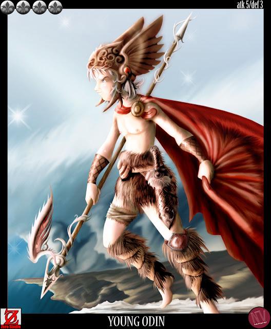 13vo Combate - Odin versus Tiamat Young_odin_by_KruzdelZur