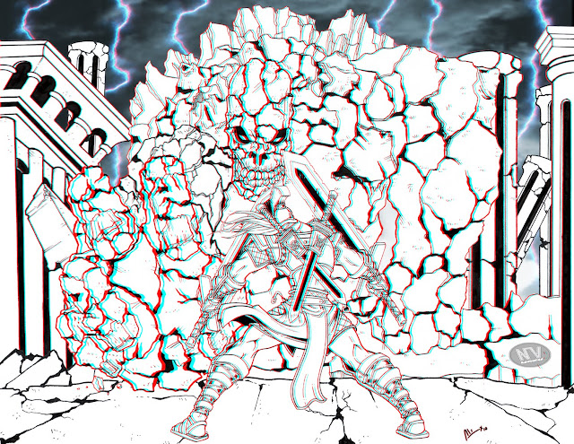 21vo combate - Afrodita versus Ares Ares_against_Earth_Titan_by_alexss