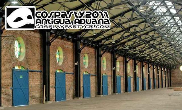 Ya hay lugar y fecha para el mejor evento de Cosplay en Costa Rica: COSPARTY 2011 Cosparty_2011_Antigua_Aduana