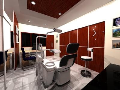 TUKANG ANIMASI: Renovasi Ruang Praktek Dokter Gigi