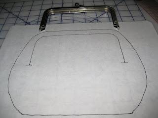 Sakura Clutch Purse Frame Knitting Pattern | makeone