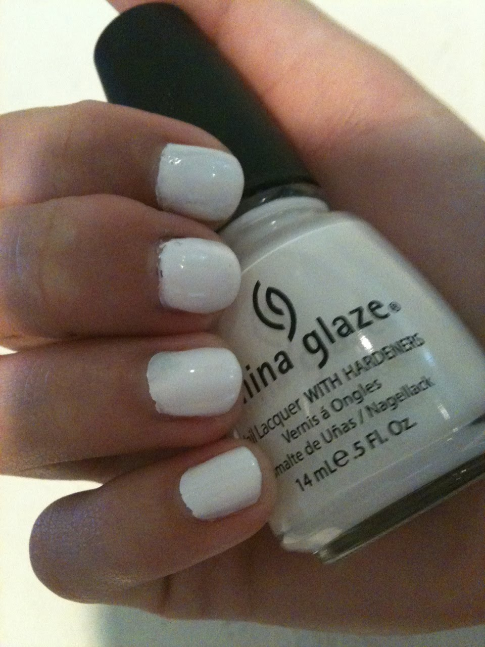 makeupandmorebyrobin: White Nail Polish..Hot or Not?