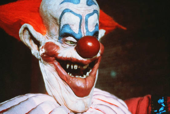 Diary of a genre addict killer klowns from outer space 1988 for Space clowns