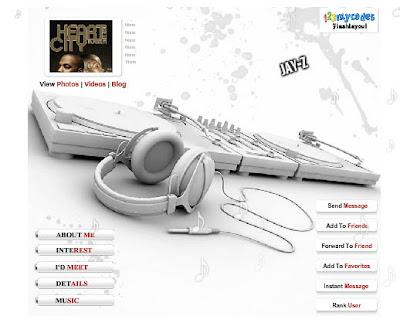 Nike Fetish - Myspace Layouts -
