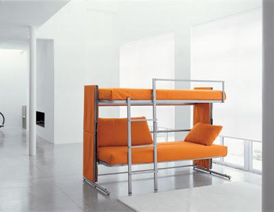 Doc single sofa, sofa bed / bunk bed unit