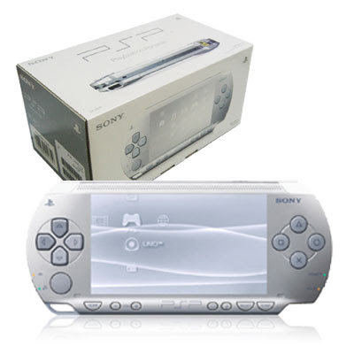 PSP Slim Silver