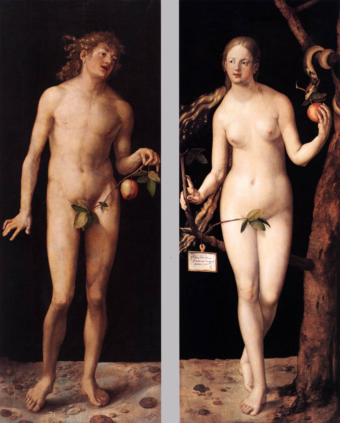 Adam and eve in garden of eden studying genesis chapter 2 6