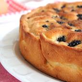 Torta di More e Frangipane con burro di Soja