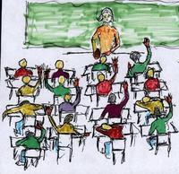 BRST ungdomsporno klasserom