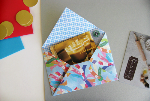 how to make an origami: easy visa gift cards