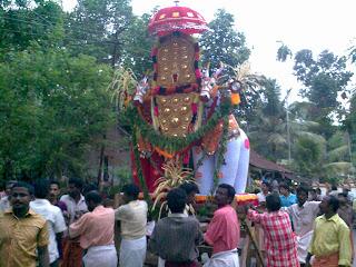 Pattambalam devi temple Eramathoor-festival 2009