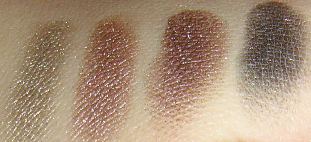 Yaby Pearl Paint Shadow swatches