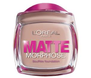 L'Oreal Matte Morphose Foundation