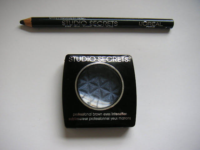 L'Oreal Studio Secrets eyeshadow and eyeliner