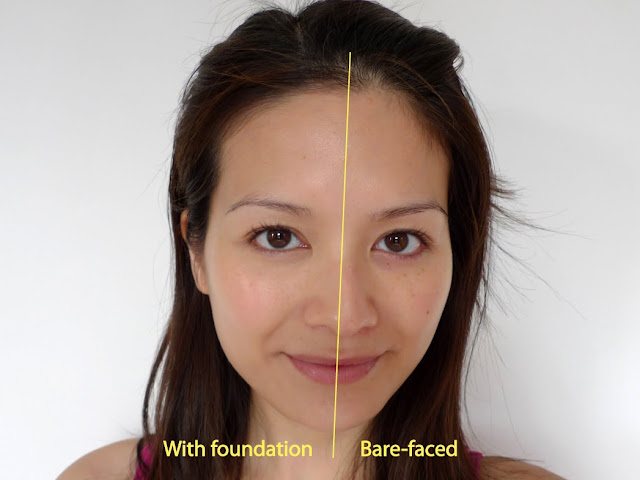 Face Atelier Ultra Foundation before and after