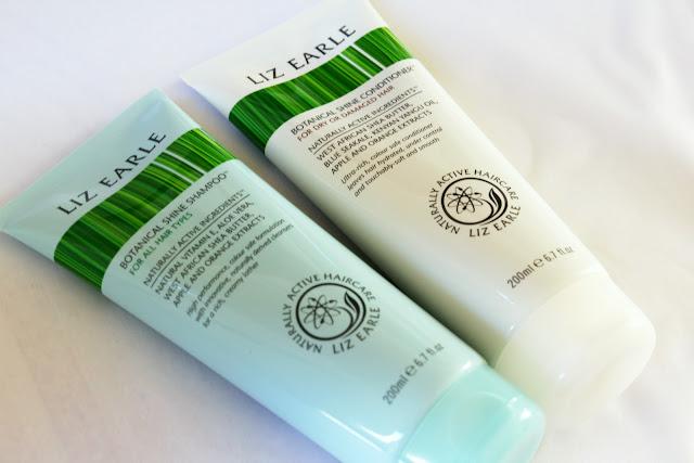 Liz Earle Botanical Shine Shampoo and Conditioner
