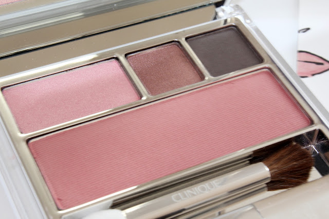 Clinique Holiday 2010 Strawberry Fudge Compact shades