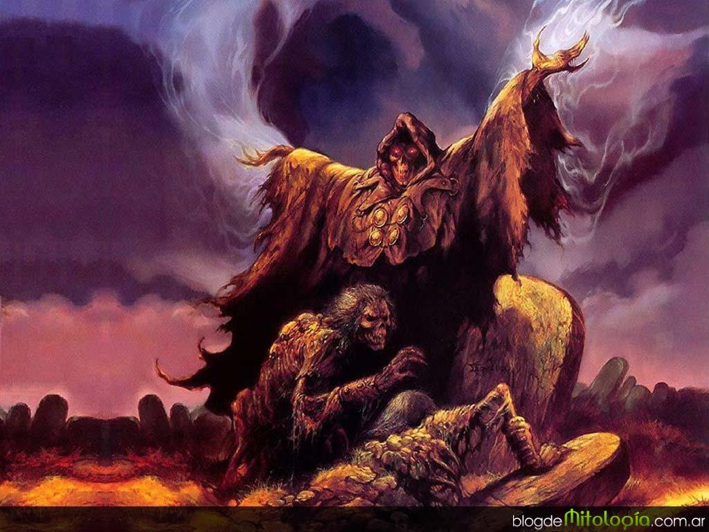 RELATOS DE DEMONIOS.  Demonios-emegren-de-tumbas