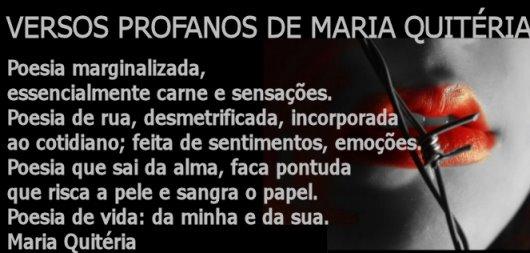 Versos Profanos de Maria Quitéria
