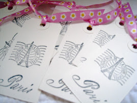 Eiffel Tower Bookmarks or Gift Tags