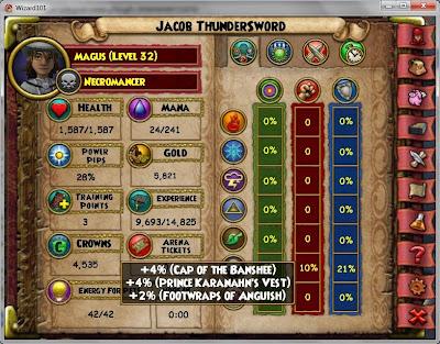 Jacob Thundersword's Death Damage Breakdown border=