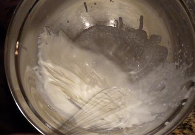 ButterYum Making whipped cream at home
