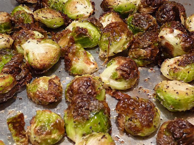 ButterYum Oven Roasted Brussels Sprouts Brussel