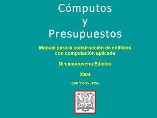 Computo y Presupuesto   Chandias