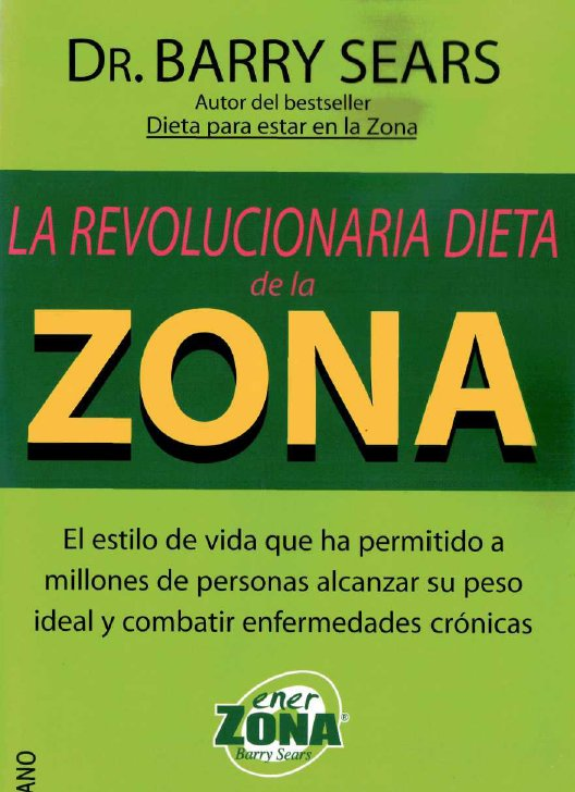 la revolucionaria dieta de la zona epub to pdf