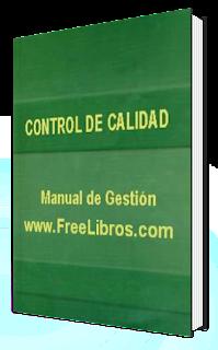 Calidad Control de Calidad   Manual de Gestión