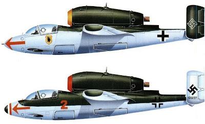 Jatos da segunda guerra Heinkel+he+162