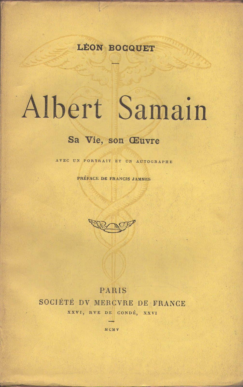 """Résultat de recherche d'images pour """"Albert Samain"""""""