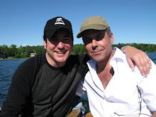 Michael S. and me speedboating in Grand Rapids, MN