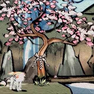 Okami on the PS2 and Wii, gorgeous and Japanese mythology-based
