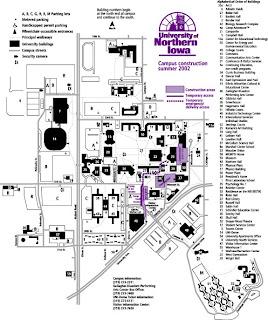 University Of Iowa Map Bnhspine Com