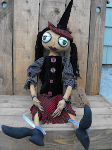 Large Witch Doll