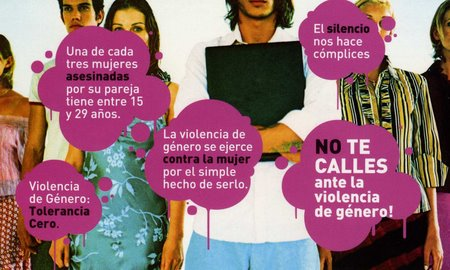 Concentracin contra la Violencia de Gnero .