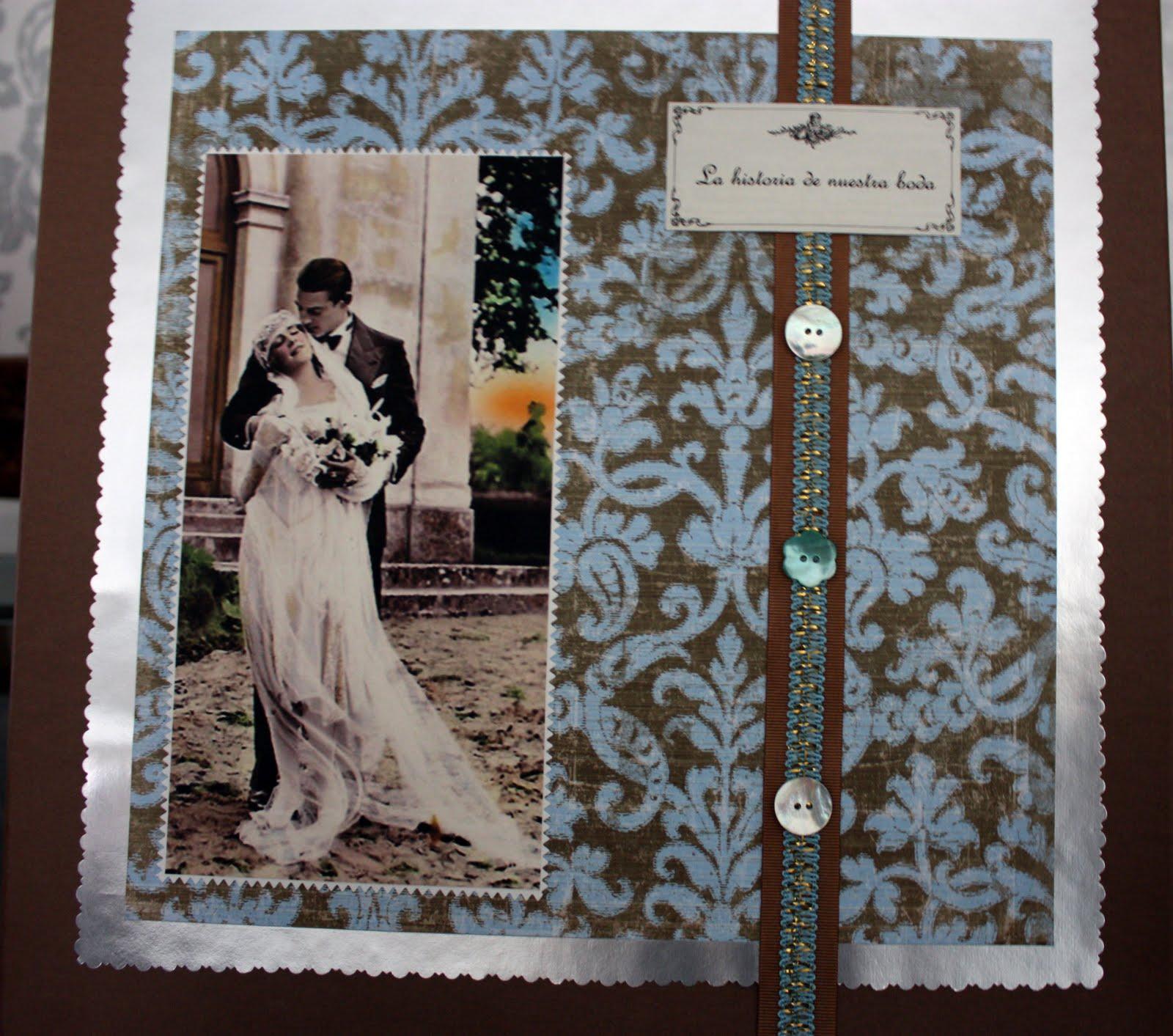 Va de retro una caja para guardar el album de tu boda - Como preparar mi boda ...