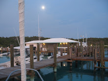 Moon over Compass Cay