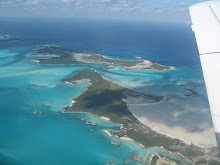Compass Cay from the Air