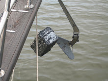 Weighing Anchor in Back River, MD