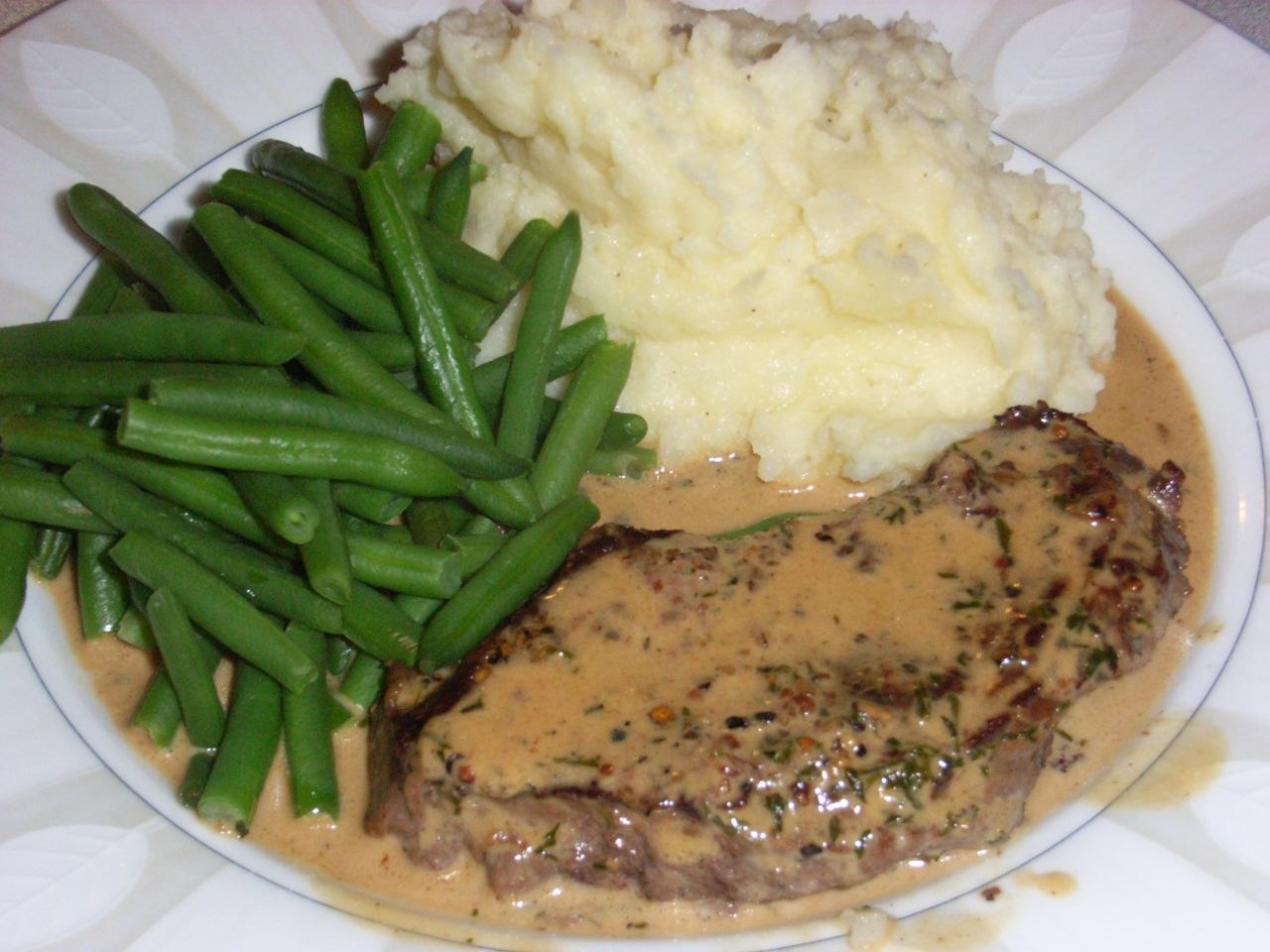 Steak au poivre | The Recipe Binder