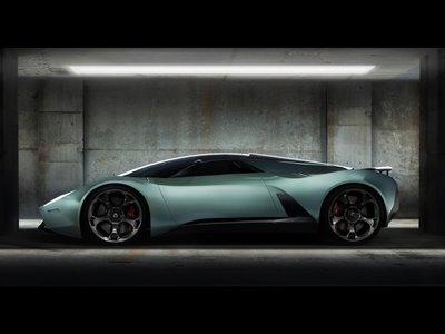 Fondos de pantalla Lamborghini Insecta Concept 2009