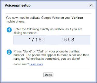 My Google Phone Number Wont Ring