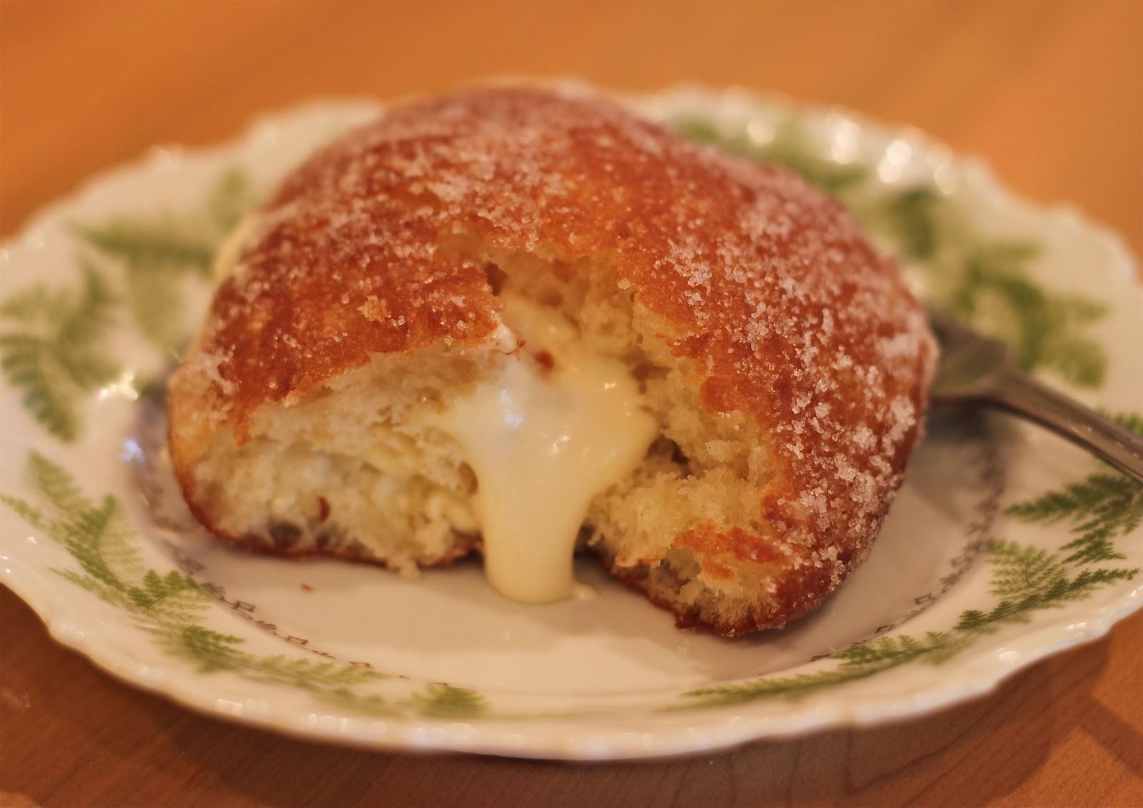 Vanilla Cream-Filled Doughnuts Recipes — Dishmaps