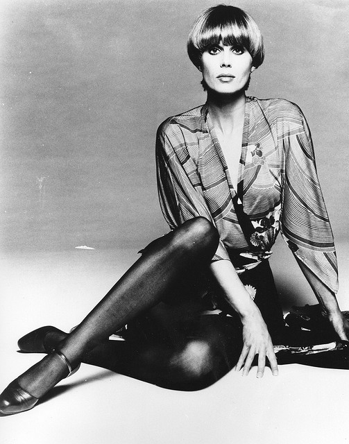 Joanna Lumley in The New Avengers, 1976